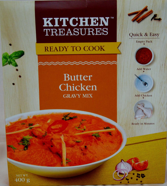 Butter Chicken Gravy Mix 400g - grocerybasket.ca