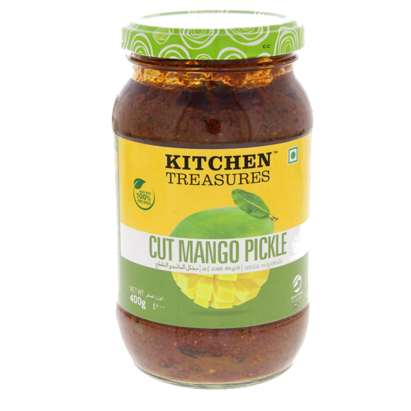 Cut Mango Pickle Diced mangoes