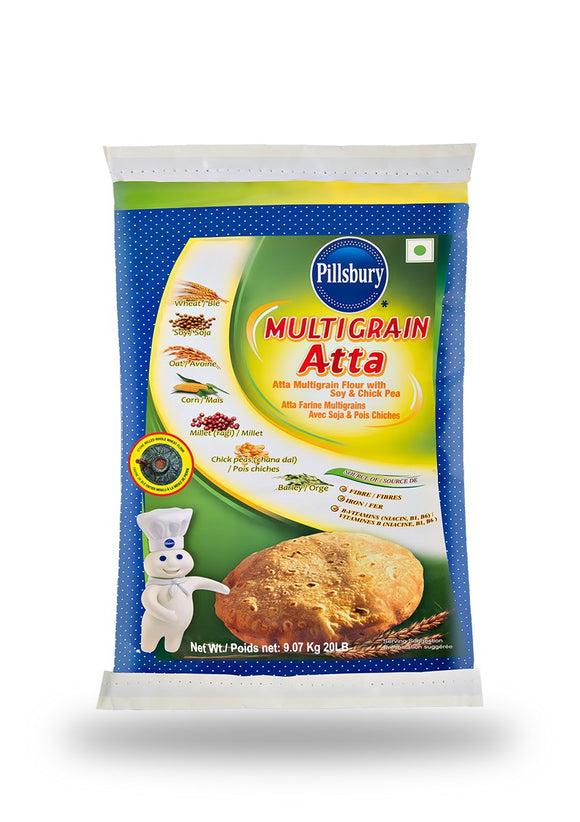 Multi Grain Atta 10lb ആട്ട - grocerybasket.ca