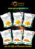 Plantain Chips Basket from Magic Bites - grocerybasket.ca
