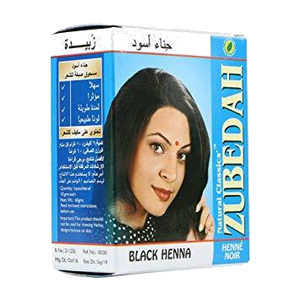 Zubedah Black Henna (Hair Color) - grocerybasket.ca