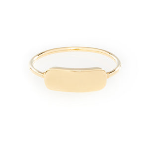 Engravable Bar Ring