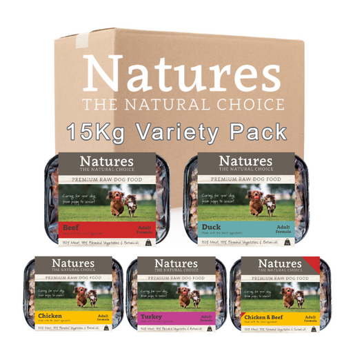 15kg Adult Variety Pack - Natures Trade