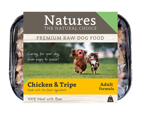 Chicken & Tripe - Working Dog - Natures Trade