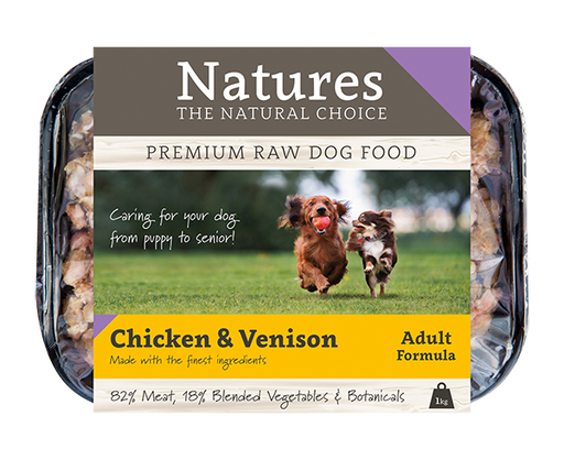 Chicken & Venison - Working Dog - Natures Trade