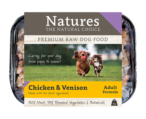 Chicken & Venison - Working Dog,  - Natures Pet Foods Trade