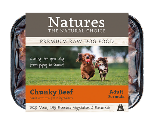 Chunky Beef - Working Dog,  - Natures Pet Foods Trade