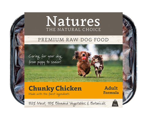 Chunky Chicken - Working Dog,  - Natures Pet Foods Trade