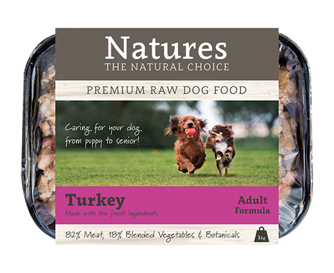 Turkey - Working Dog,  - Natures Pet Foods Trade
