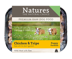 Puppy Chicken & Tripe,  - Natures Pet Foods Trade