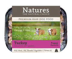 Puppy Turkey,  - Natures Pet Foods Trade