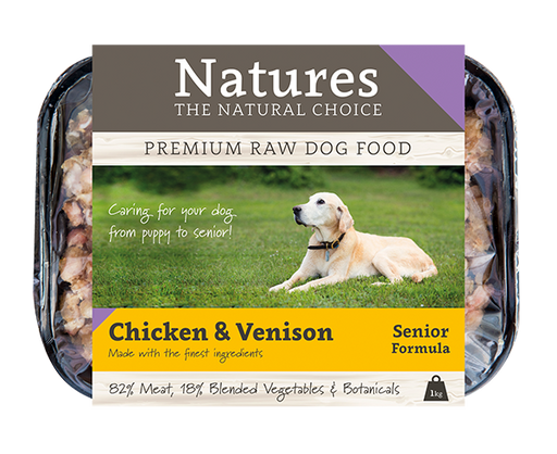 Senior Chicken & Venison,  - Natures Pet Foods Trade