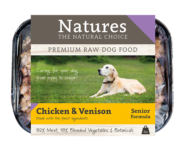 Senior Chicken & Venison - Natures Trade
