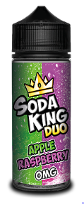 Soda King Duo - Apple Raspberry - 100ml - 0mg