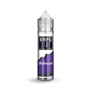 Vape 24/7 - Blackcurrant - 50ml - 0mg
