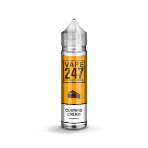 Vape 24/7 - Custard Cream - 50ml - 0mg