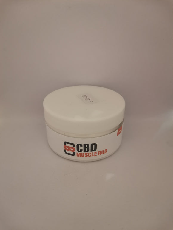 CBD Asylum - Muscle Rub - 100ml - 500mg *NOT FOR USE WITH VAPE DEVICES