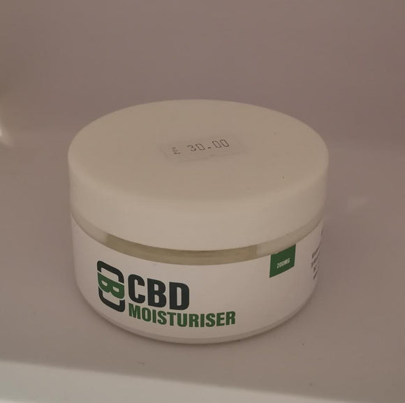 CBD Asylum - Moisturiser - 100ml - 200mg *NOT FOR USE WITH VAPE DEVICES