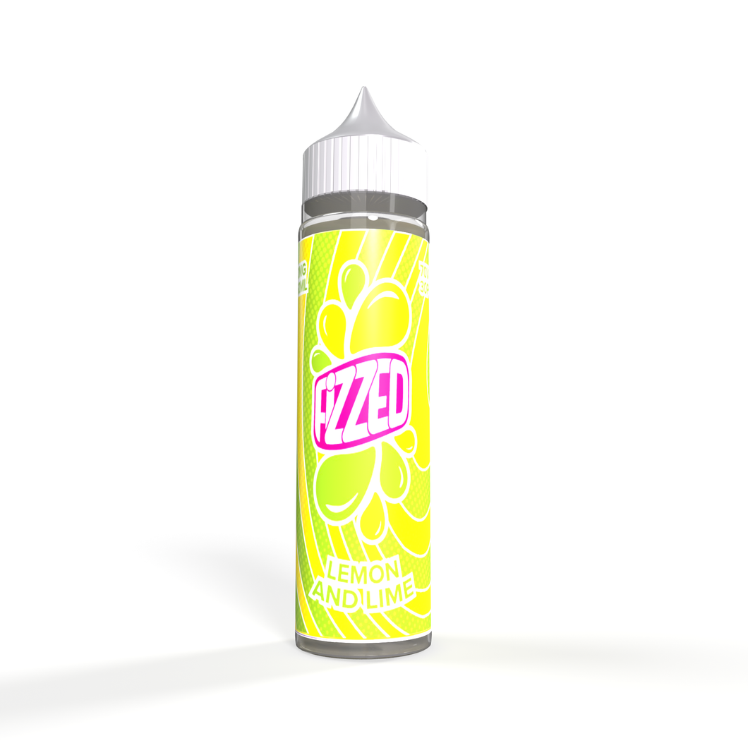 Fizzed - Lemon and Lime -50ml 0mg
