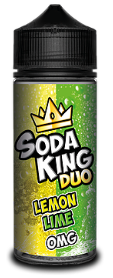 Soda King Duo - Lemon Lime - 100ml - 0mg