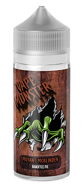 MosterVape - Mutant Mcalinden - 100ml - 0mg