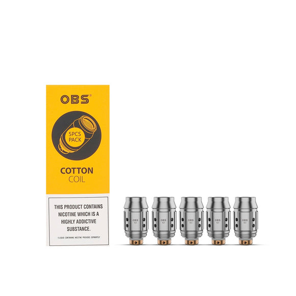 OBS - N1 Cotton Coil - 1.2ohm - Coil