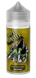 MosterVape - Bloodthirsty Banks - 100ml - 0mg