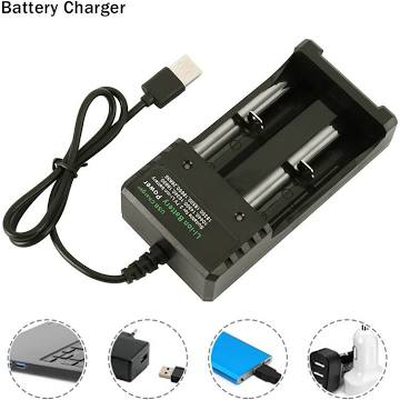 18650 battery charger - Eflavourz