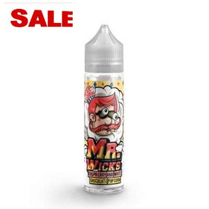 Mr Wicks - Raspberry and White Chocolate Popcorn - 50ml - 0mg