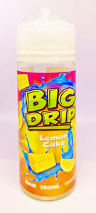 Big  Drip - Lemon Cake - 100ml - 0mg