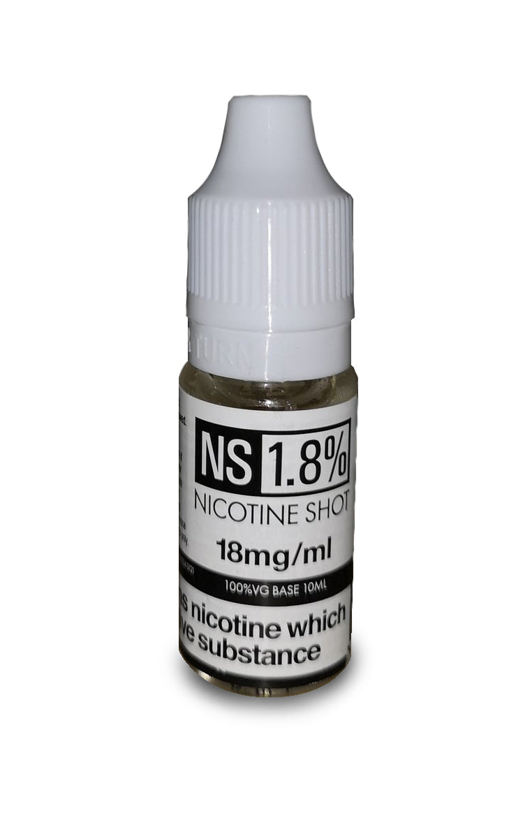 Nicotine shot 18mg 10ml bottle - Eflavourz