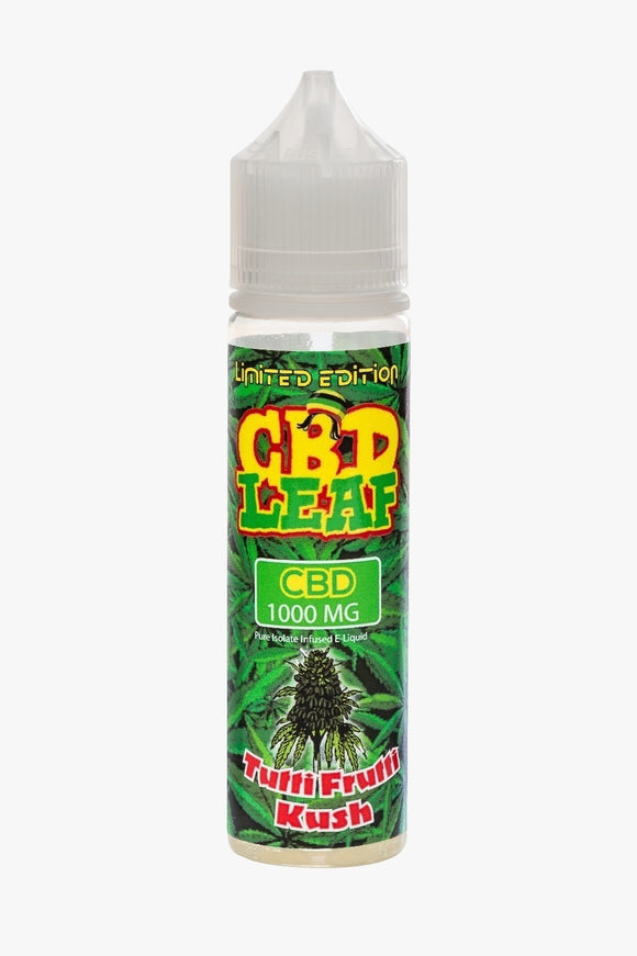 CBD Leaf - Tutti Fruity Kush - 50ml - 1000mg