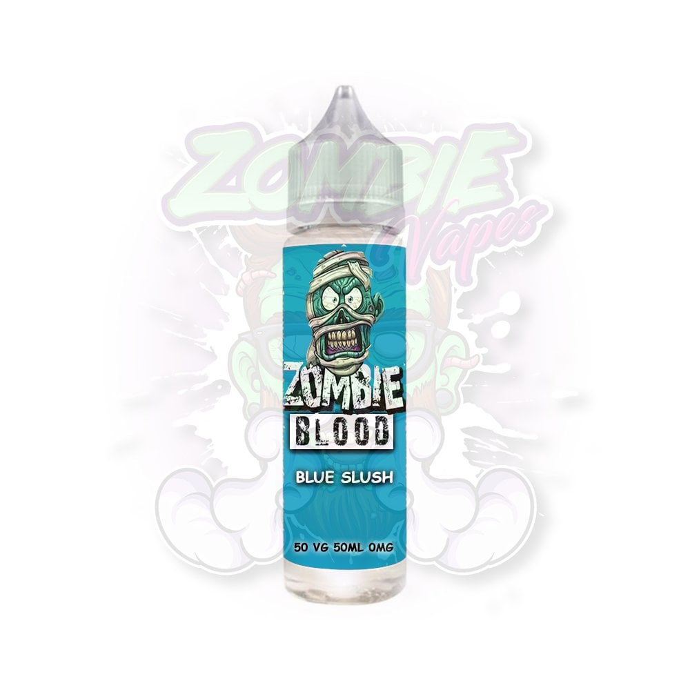 Zombie blood blue slush - Eflavourz
