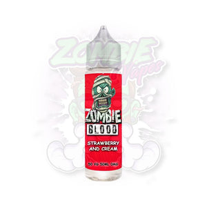 Zombie blood strawberries and cream - Eflavourz