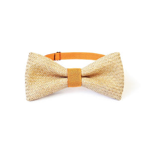 Rush Grass Bow Tie - Orange