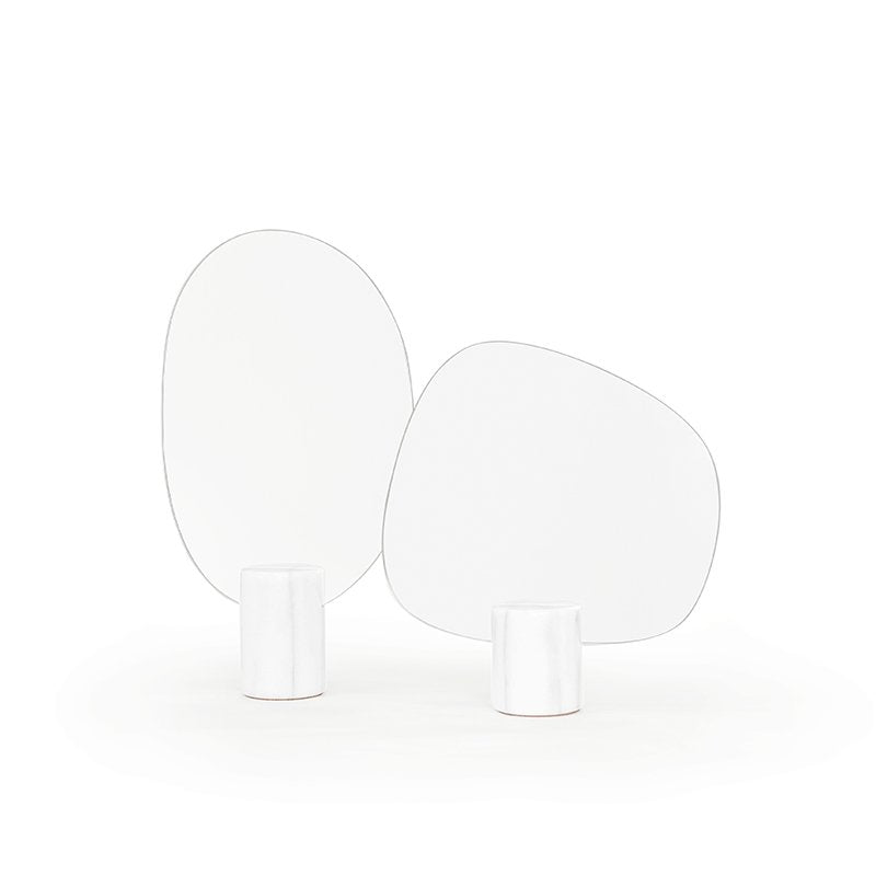 White Marble Mirror Forest (Tall+Wide)