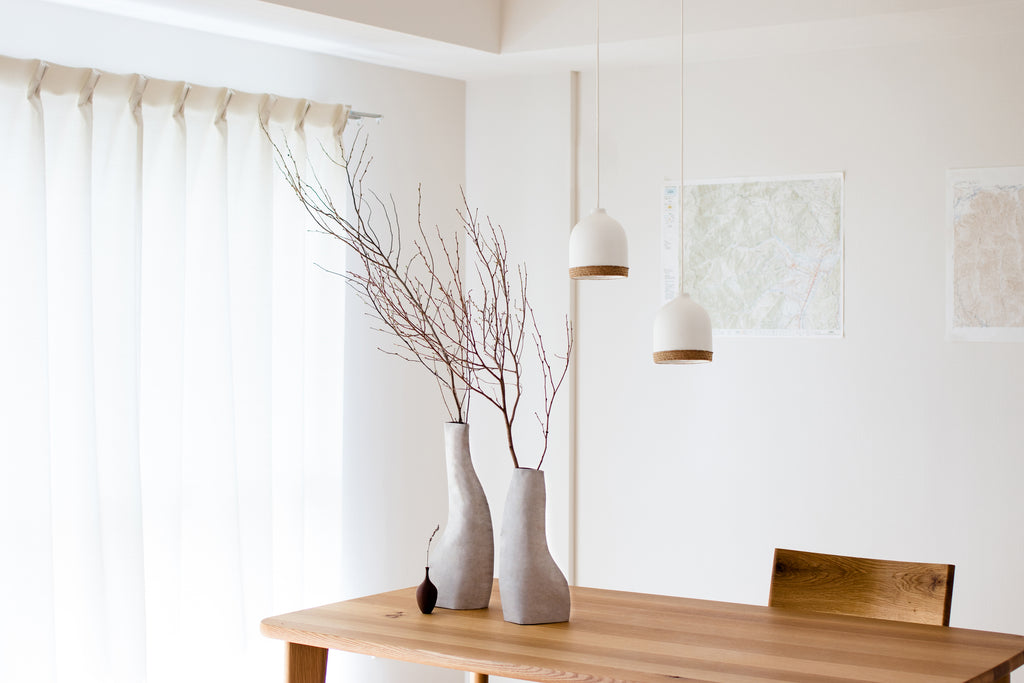 Eco-friendly Tao Pendant Light for minimal residential and commercial interiors