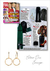 Sif Jakobs Jewelery Cetara earrings in FRAU IM SPIEGEL - gold