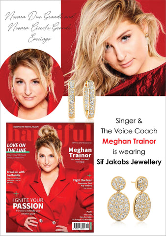 Sif Jakobs Jewellery and Meghan Trainor