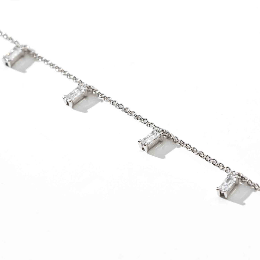 Bracelet Princess Baguette - with white zirconia - Sif Jakobs Jewellery