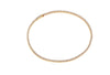 Bracelet Ellera - 18k gold plated with white zirconia