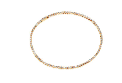 Bracelet Ellera - 18k gold plated with white zirconia - Sif Jakobs Jewellery