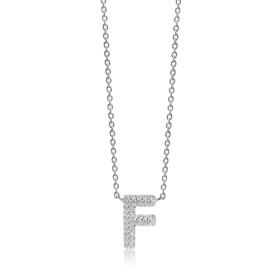 Necklace Novoli F with white zirconia - Sif Jakobs Jewellery