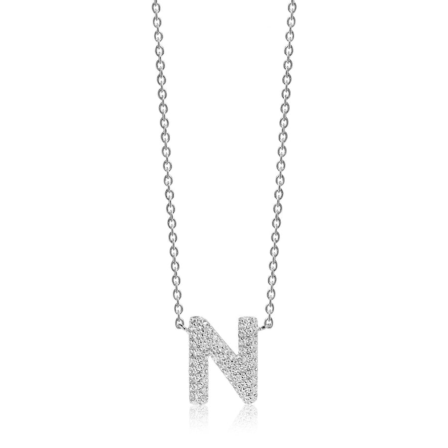 Necklace Novoli N with white zirconia - Sif Jakobs Jewellery