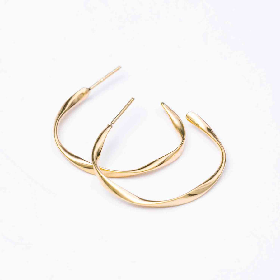 Earrings Cetara Pianura - 18k gold plated
