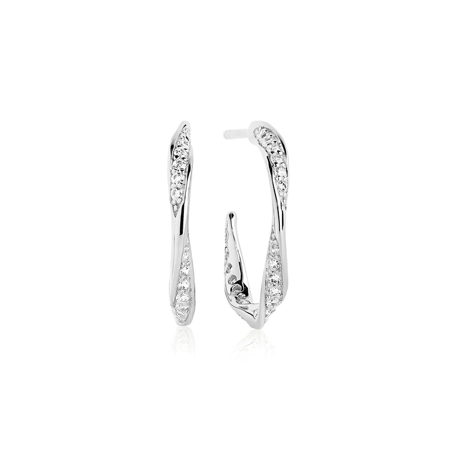 Earrings Cetara Piccolo with white zirconia