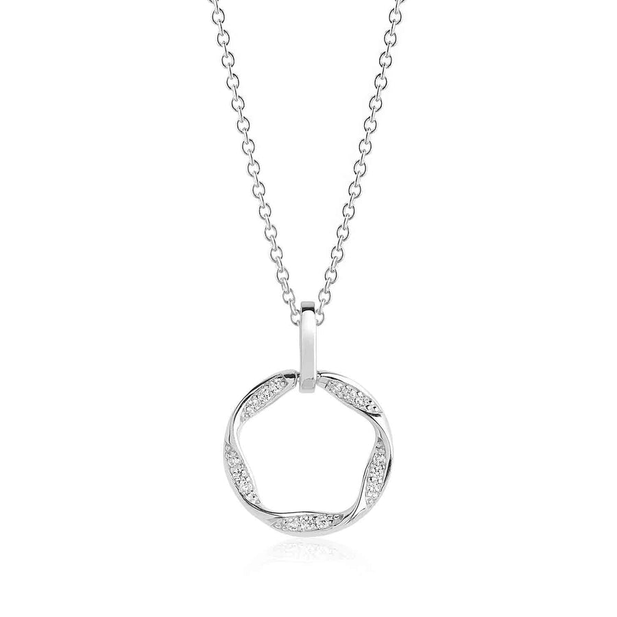 Pendant Cetara Piccolo with white zirconia