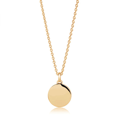 Pendant Follina Pianura Piccolo - 18k gold plated