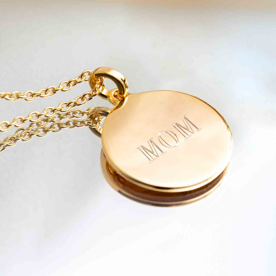 Pendant Follina Pianura - 18k gold plated