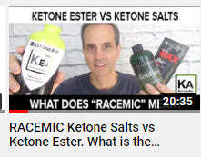 Ketone Esters Vs Ketone Salts. The Exogenous Ketone Battle?